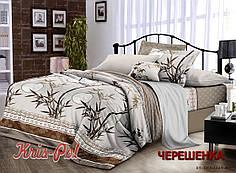 Двуспальный набор постельного белья 180*220 из Поплина №161369 KRISPOL™