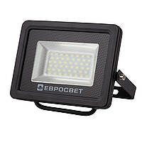Прожектор 20W 1800Lm 6400K IP65 EVRO LIGHT EV-20-01 SanAn