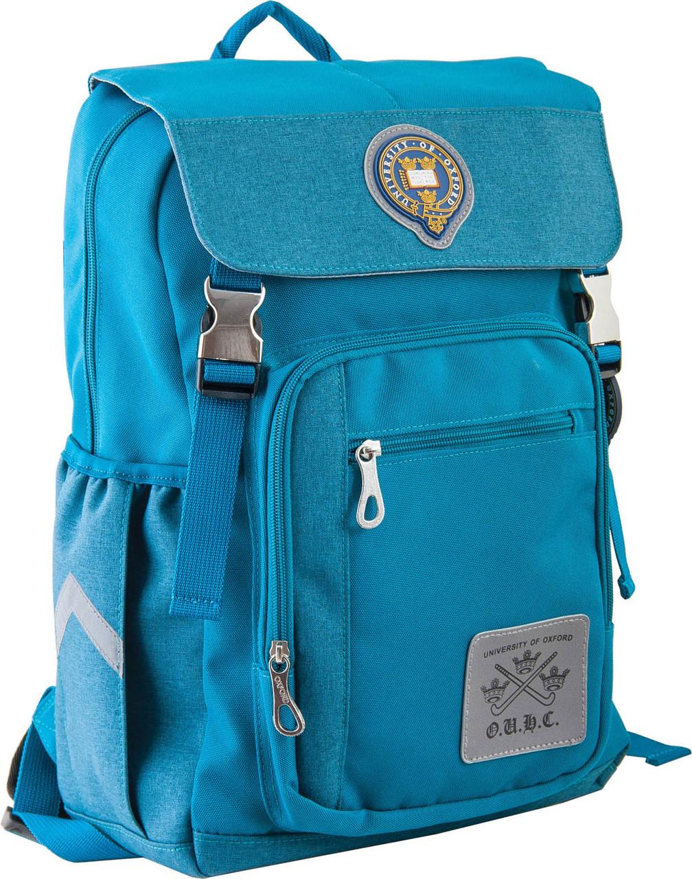 Подростковый рюкзак OX 283 OXFORD, 554110 бирюзовый 16 л