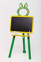 Мольберт двусторонний Active Baby Жёлто-зеленый