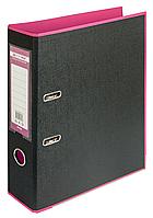 Сегрегатор А4 70 мм Buromax Style розовый/черный, BM.3005-10c
