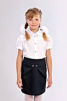 Школьная юбка синяя 411-2