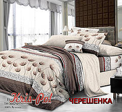 Семейный набор хлопкового постельного белья из Поплина №163602 KRISPOL™