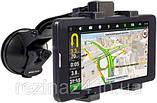 Автомобильный GPS навигатор планшет Shuttle PNT-7045 с 3G  Android 8.1 с картами Европы Igo Next TIR CPA, фото 4