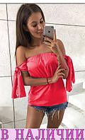 Женская блузка Santana! 7 ЦВЕТОВ ! В НАЛИЧИИ!!!!