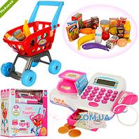 Кассовый аппарат магазин детский игровой набор LS820A24