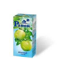 """""""Ранок"""" Нектар Яблочный 0,2л"""