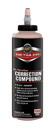 Корректирующая полировальная паста - Meguiar's Detailer DA Microfiber Correction Compound 473 мл. (D30016), фото 2