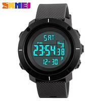 Мужские электронные наручные часы Skmei 1215 Pedometr