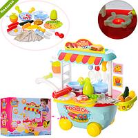 Магазин на колесиках детский игровой набор 889-93-94