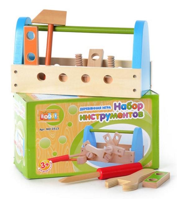 Деревянная игра «Набор инструментов»