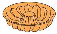 Форма силиконовая Pavoni FRT 103