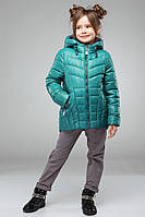 Осенняя  куртка на девочку Майя NUI VERY (нью вери)  бирюза