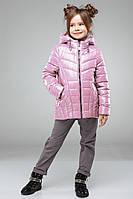 Осенняя  куртка на девочку Майя NUI VERY (нью вери)  св.розовый