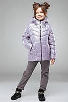 Осенняя  куртка на девочку Майя NUI VERY (нью вери)  св.сирень