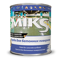Краска для бетонных поверхностей MIKS