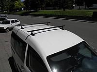Багажник в штатное место Combi на Kangoo, Megane, Caddy, Focus, Mondeo, Mazda 3/6/324, 2 поперечины сталь1,20м