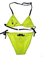 Яркий купальник для девочки