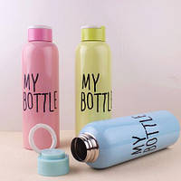 """Бутылка спортивная железная """"My Bottle"""" 650 мл"""