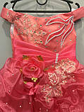 Праздничное платье для девочки 5/6 л, фото 2