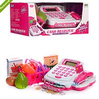 Кассовый аппарат с калькулятором и сканером детский игровой набор 8319