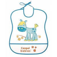 Мягкий пластиковый нагрудник Canpol Babies Лошадка
