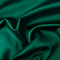 Атлас (зеленый) ткань