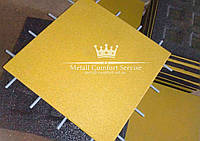 Резиновая плитка 500х500х20 жёлтая, фото 1