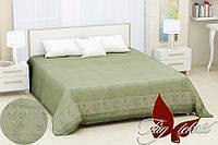 Простынь бамбуковая 200х220 Sarmasik green