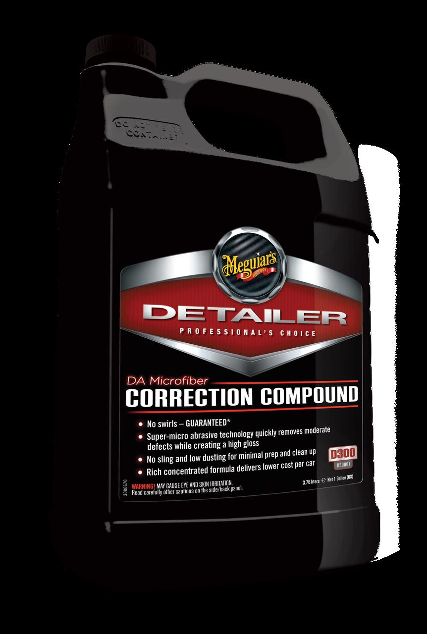 Корректирующая полировальная паста - Meguiar's Detailer DA Microfiber Correction Compound 3,79 л. (D30001)