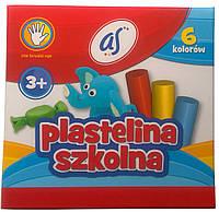 Пластилин 6цв AS 83811909