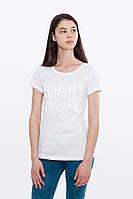 Белая женская футболка урбан пленет