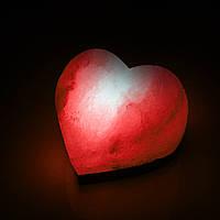 Соляная лампа SALTKEY LOVE (Сердце) (red, green, blue)