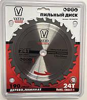 Пильный диск по ламинату VATZO 254x30x40z