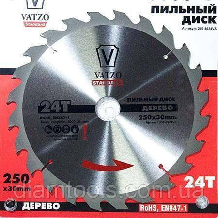 Пильный диск Vatzo 210x30x24z