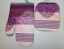 Прихватка и рукавица для кухни ткань бязь