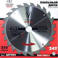Пильный диск Vatzo 250x32x60z