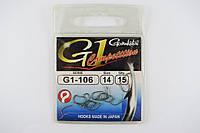 Крючки Gamakatsu Competition G1-106 №14