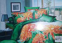 """Комплект постельного белья """"Elway"""" (Элвей) евро 3D №S070"""