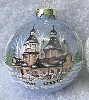 Елочный стеклянный шар 65 мм, фото 1