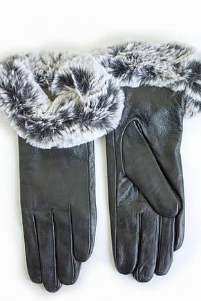 Женские кожаные перчатки КРОЛИК Средние WP-162682s2, фото 2