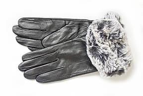 Женские кожаные перчатки Кролик Сенсорные WP-162684, фото 2
