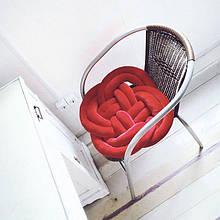 Подушка-узел на стул 50х50 см (цвет на выбор)