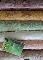 Упаковка 6шт - полотенца бамбуковые 50х90 Bamboo Gold