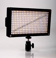 Cветодиодный накамерный свет Lishuai LED-312AS (Би-светодиодный) + комплект + Гарантия 6 месяцев