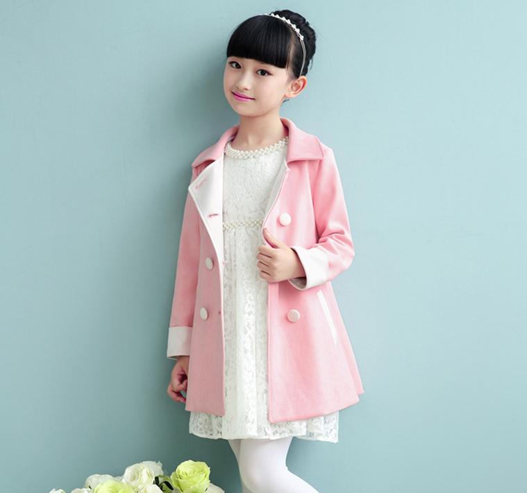 Нарядне осінньо-весняне пальто для дівчаток - Інтернет-магазин дитячого та  жіночого одягу