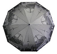 """Зонт полуавтомат Города """"WE-DA"""" на 10 карбоновых спиц/ Зонт """"антиветер"""""""