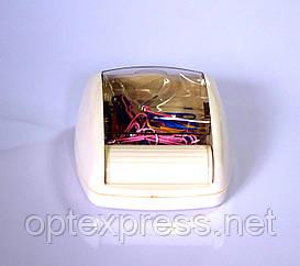 Магнитная подставка-роллер с набором цветных скрепок  ALCO