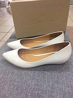 Свадебные туфли белые Marie Fleur