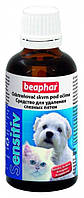 Средство Beaphar Sensitiv для глаз собак, удаление слезных пятен, 50 мл
